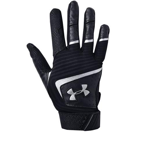 Tee-Ball Clean Up Batting Gloves, Black/Black, swatch
