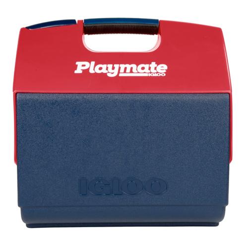 Playmate Elite Ultra 16Qt Cooler, Red/Blue, swatch