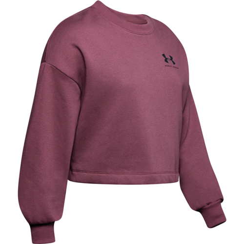 Women's Rival Graphic LC Fleece Crew Sweatshirt, Dk Red,Wine,Ruby,Burgandy, swatch
