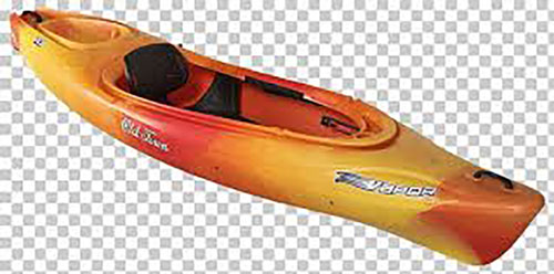 Vapor 10 Angler Kayak, Orange, swatch