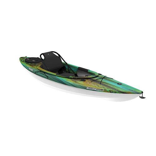 Coast 100XR Sit-In Kayak, Green/Blue, swatch