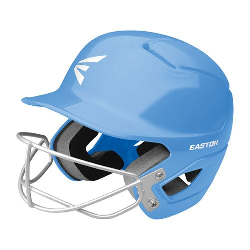 Tee Ball Alpha Fast Pitch Helmet with Mask, Lt Blue,Powder,Sky Blue, swatch
