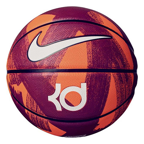 KD Official Basketball, Crimson, swatch