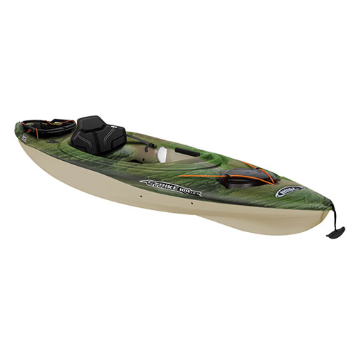 Strike 100NXT Angler Sit-in Kayak, Green/Blk, swatch