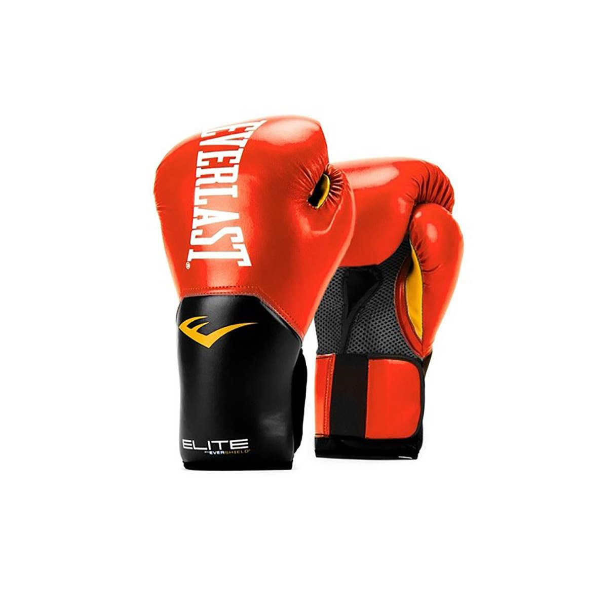 Pro-Style Elite Boxing Gloves, Red, swatch