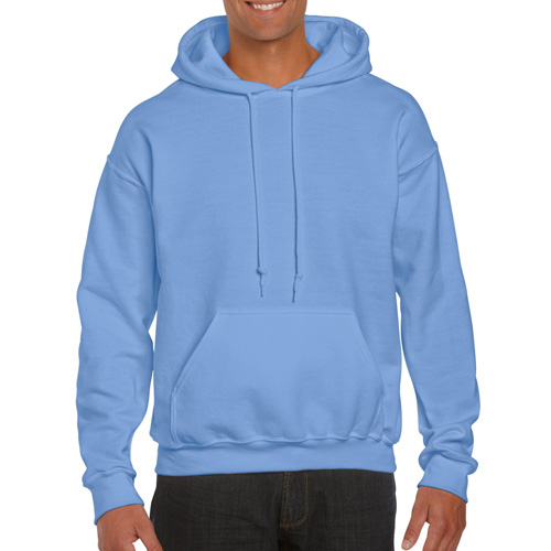 Men's Extdended Sizes Long Sleeve Hoodie, Lt Blue,Powder,Sky Blue, swatch