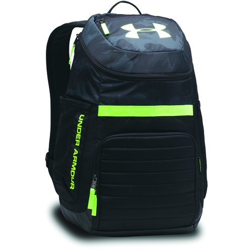 Undeniable 3.0 Backpack, Black/Lime Green, swatch