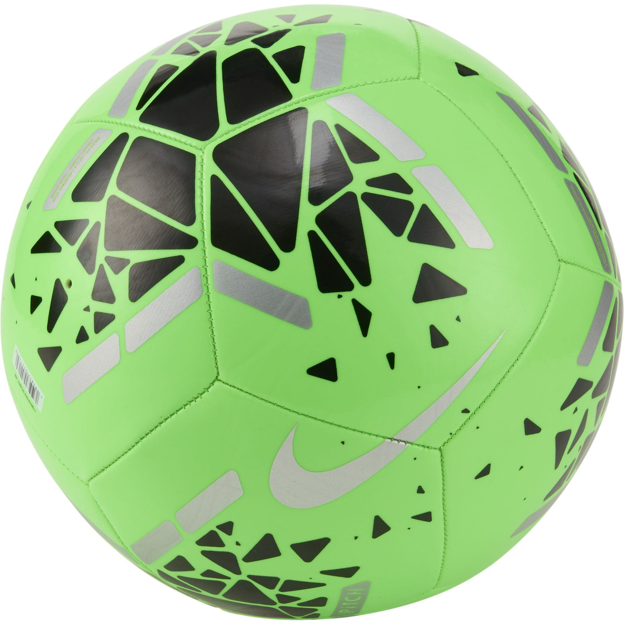 Pitch Soccer Ball, Green/Blk, swatch