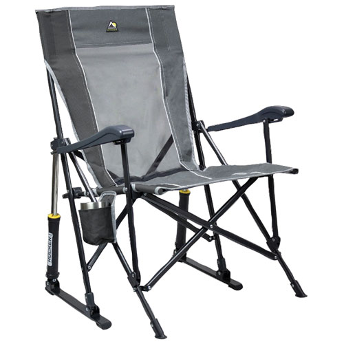 Roadtrip Rocker Camping Chair, Gray, swatch