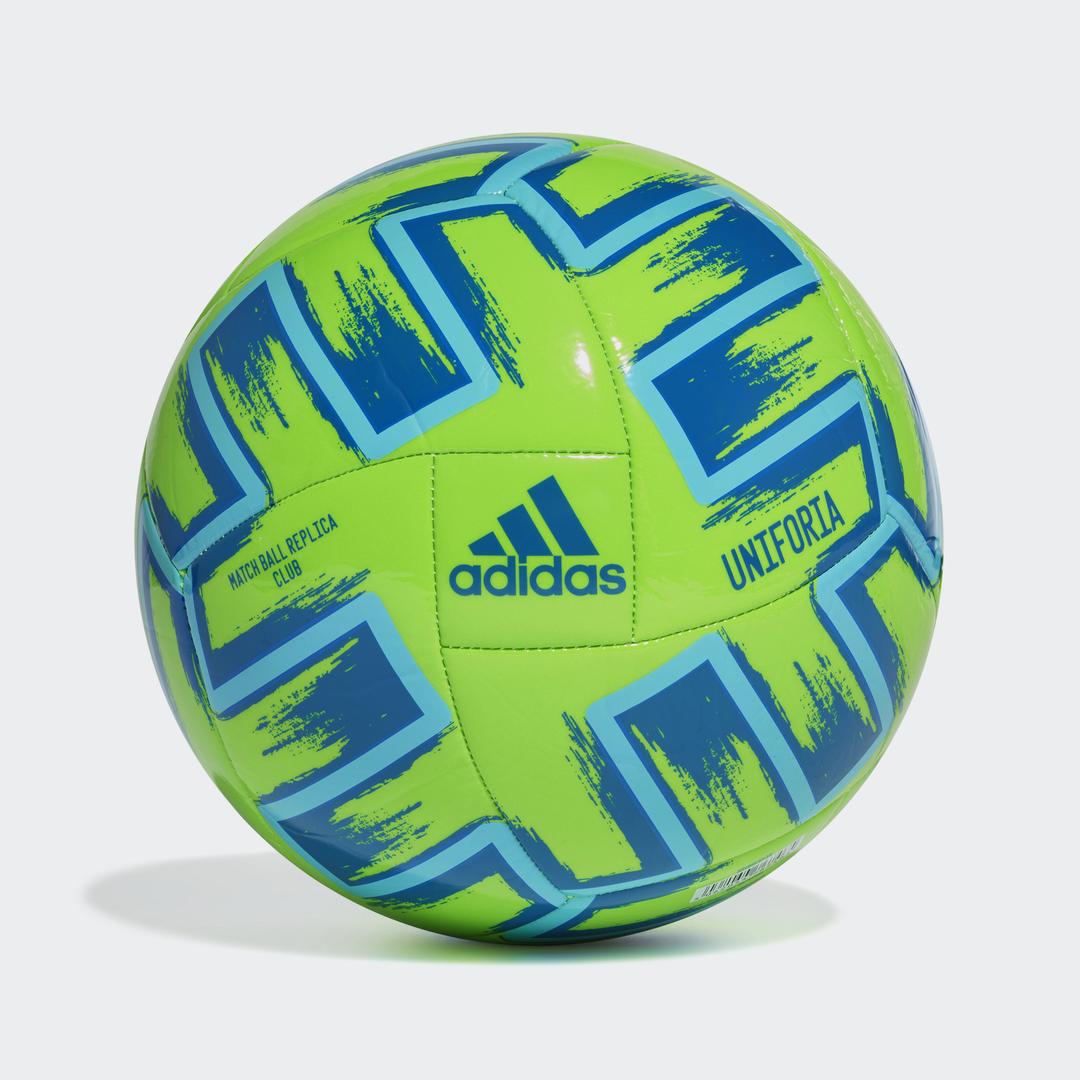 Uniforia Club Soccer Ball, Bright Grn,Kelly,Emerald, swatch