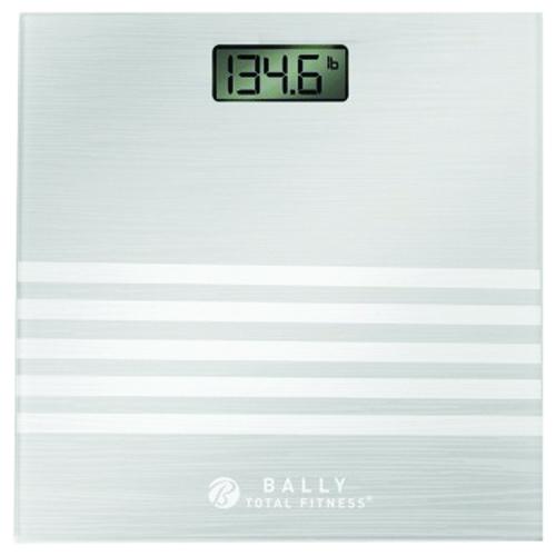 Healthy Balance Digital Bathroom Scale, Clear, swatch