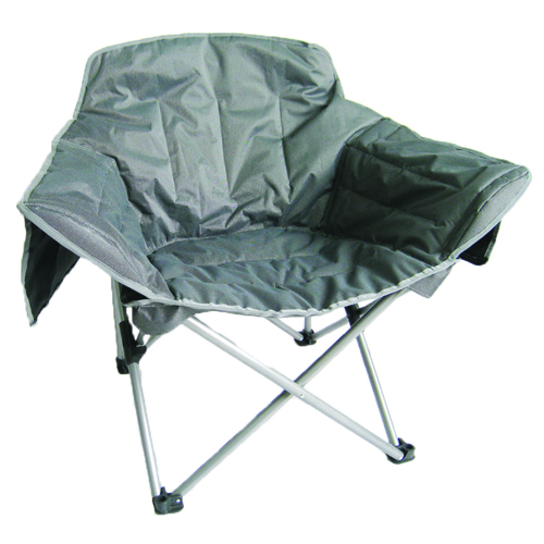 Zip Big Club Chair, Gray, swatch