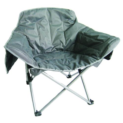 Zip Big Club Chair, Gray, swatch
