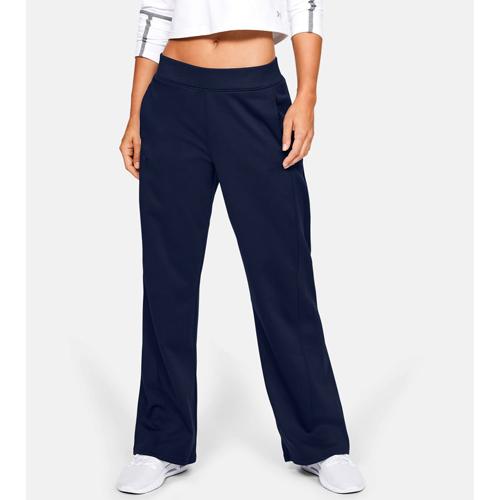 Women's Armour Fleece Open Pant, Black, swatch