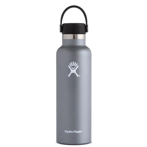 21 Oz. Standard Mouth Water Bottle, Graphite, swatch