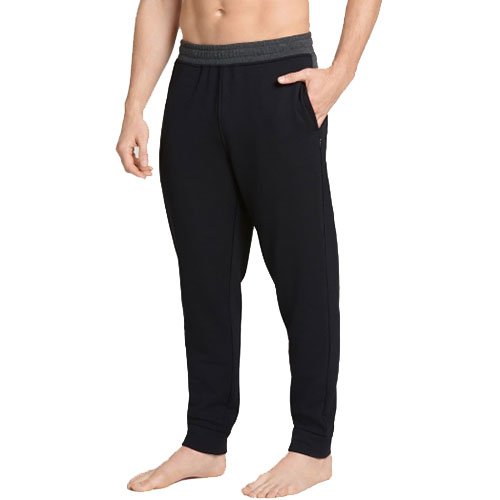 Men's Cozy Fleece Sweatpant, Black, swatch