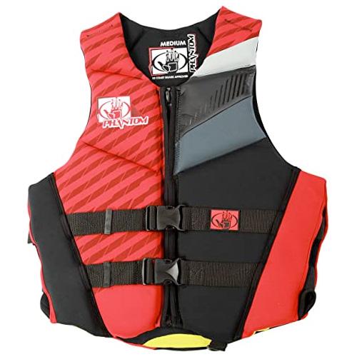 Phantom Neoprene Vest, Red, swatch