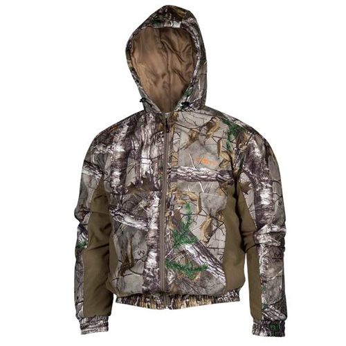 Men's Realtree Insulated Bomber Jacket, , large