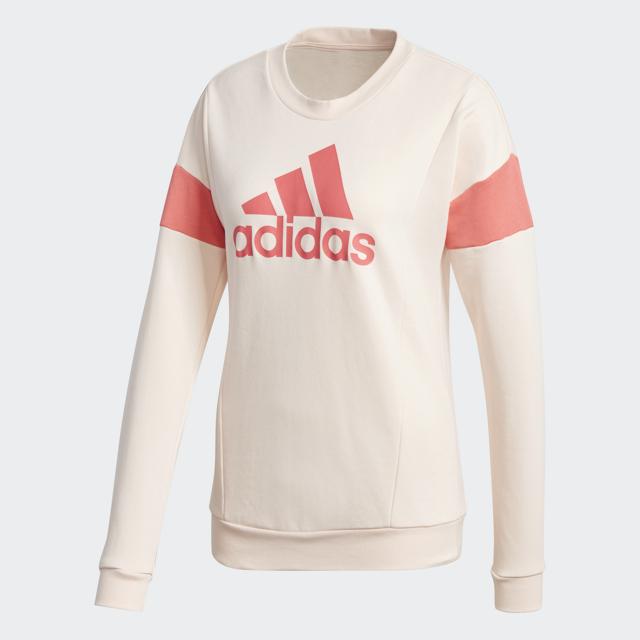 Women's Favorite Fit Sweatshirt, Pink, swatch