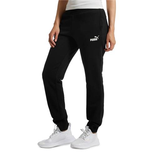 Women's Essentials Fleece Pants, Black, swatch
