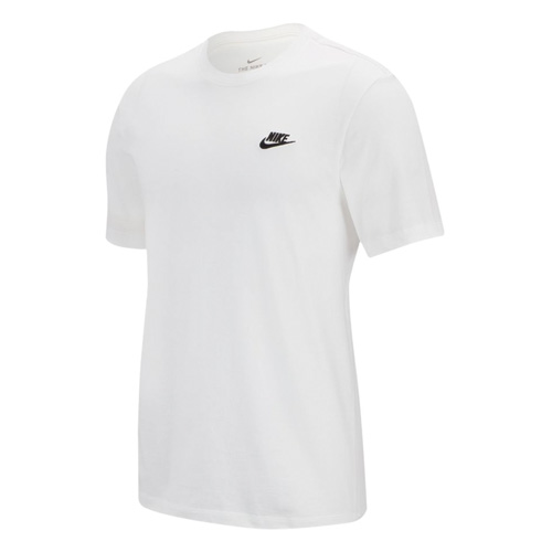 Men's Club Short Sleeve Tee, White, swatch