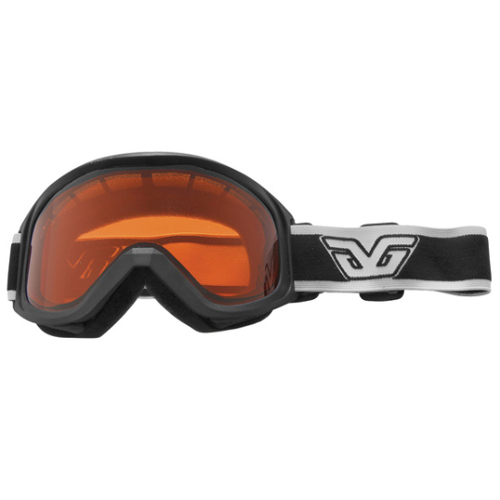 Crest Goggles, Black/White, swatch