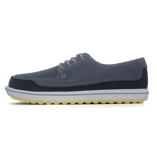 Men's Gimmie Golf Shoe, Navy/Yellow, swatch