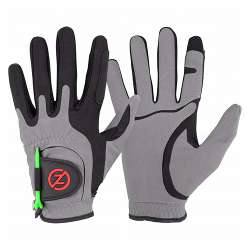 Men's Storm All Weather Compression Fit Golf Glove Pair, Gray, swatch