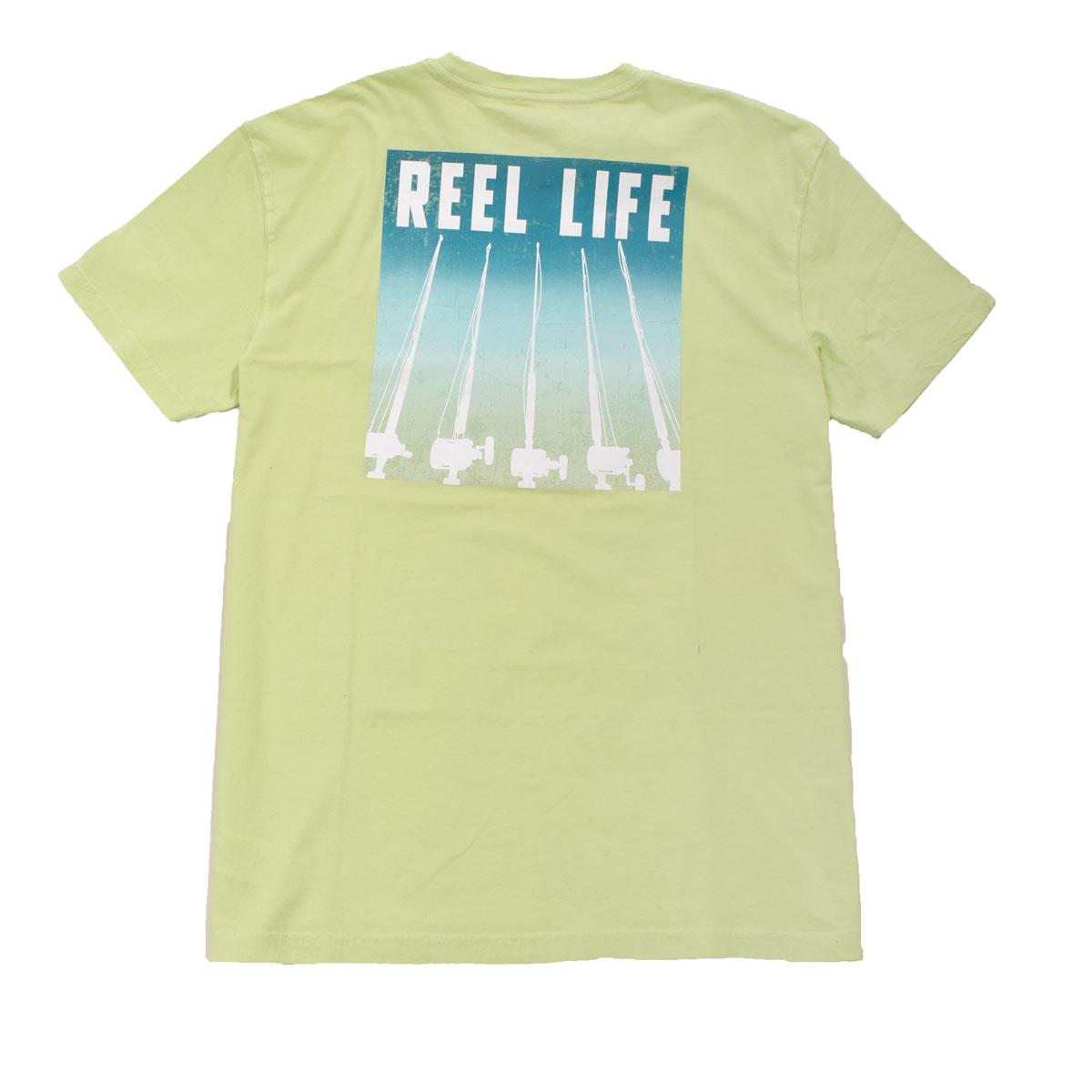 Men's Short Sleeve Sunset Rods Tee, Dkgreen,Moss,Olive,Forest, swatch