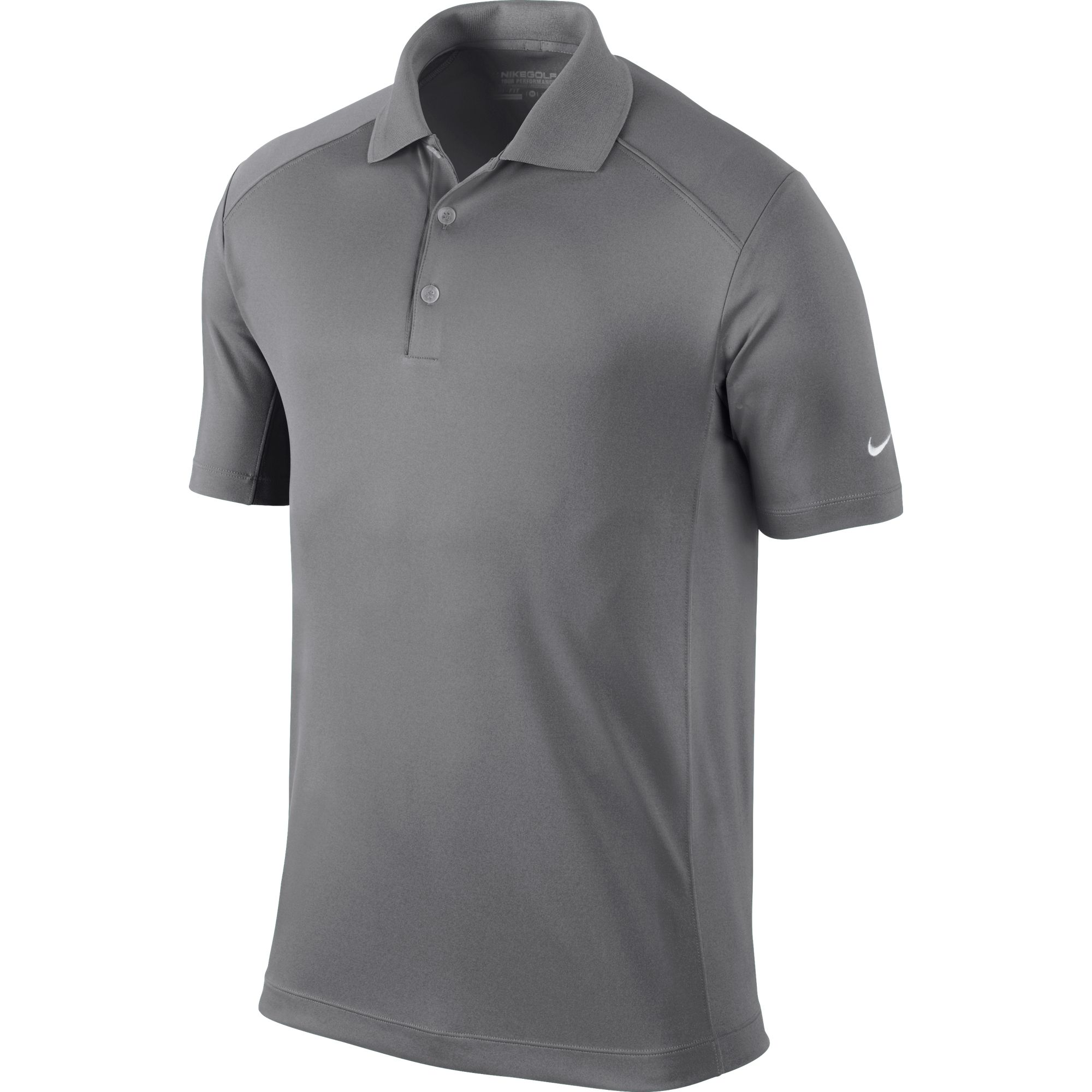Men's Victory Solid Polo Golf Shirt, Black, swatch