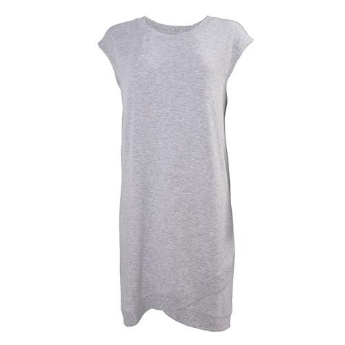 Women's Short Sleeve Dress, Heather Gray, swatch