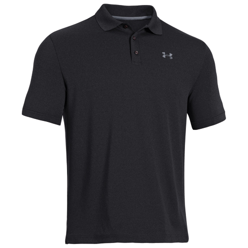 Men's Performance Polo Golf Shirt, Black, swatch