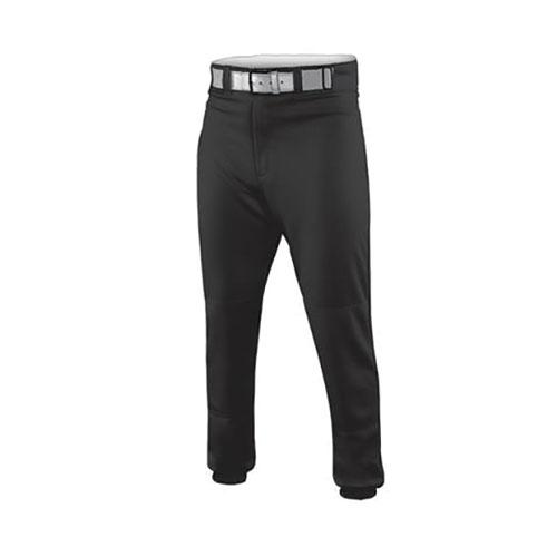 Youth HNR Closed Bottom Baseball Pant, Black, swatch