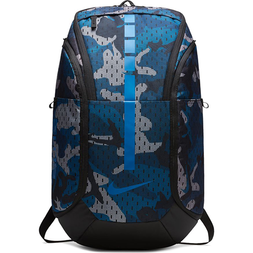 Hoops Elite Pro Backpack, Charcoal/Blue, swatch