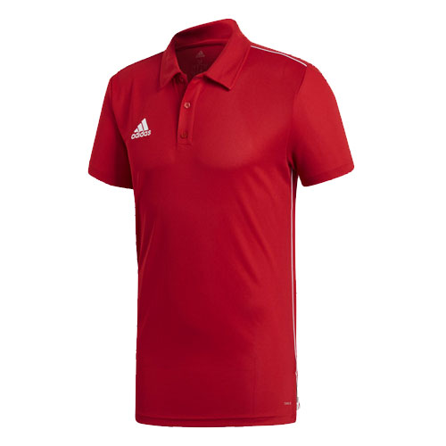 Men's 18 Climalite Polo Shirt, Red, swatch