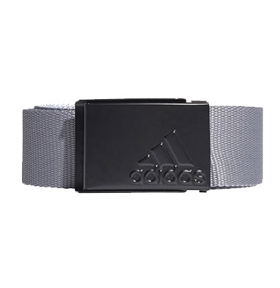 Men's Reversible Web Golf Belt, Gray, swatch