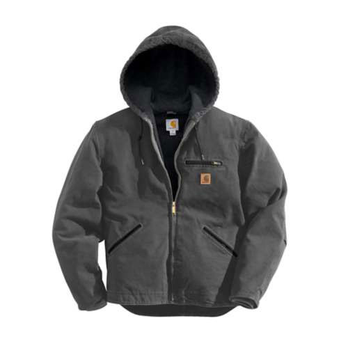 Men's Sandstone Sherpa-Lined Sierra Jacket, Dark Gray,Pewter,Slate, swatch