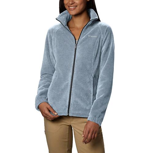 Women's Benton Springs Full Zip Fleece Jacket, Lt Gray,Dove Gray, swatch