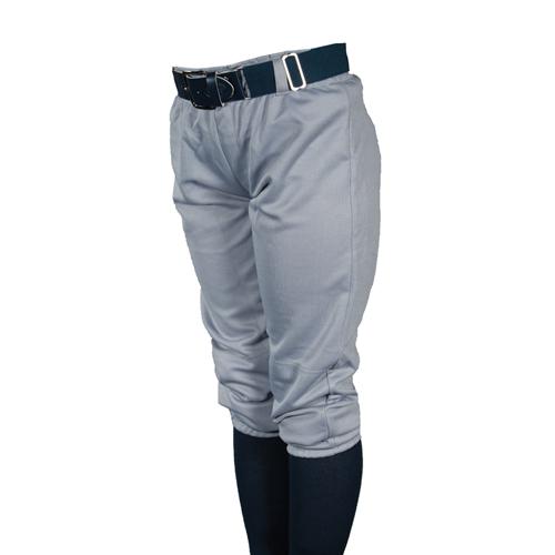 Youth Pull-Up Baseball Pants, Gray, swatch