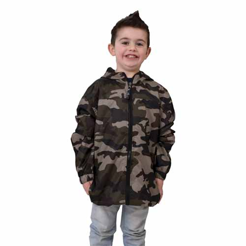 Boys Camo Yakima Jacket, , large