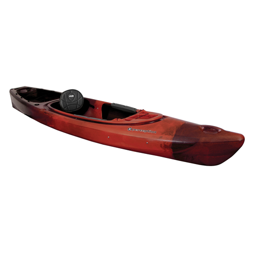Sound 10.5 Sit-In Angler Kayak, Red/Black, swatch