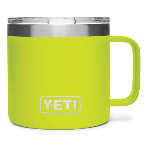 14 Oz. Color Mug, Chartreuse, swatch