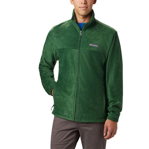 Men's Steens Mountain Full Zip Fleece, Green, swatch