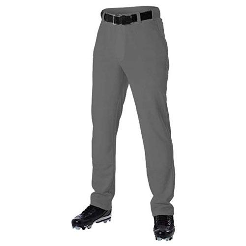 Adult Open Bottom & Belt Loop Pant, Charcoal,Smoke,Steel, swatch