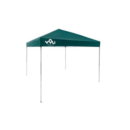 10'X10' Easylift Straight Leg Canopy, Green, swatch