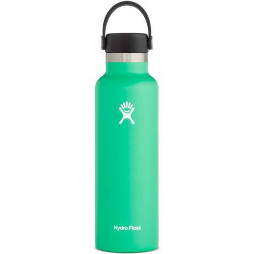21 Oz. Standard Mouth Water Bottle, Bright Grn,Kelly,Emerald, swatch