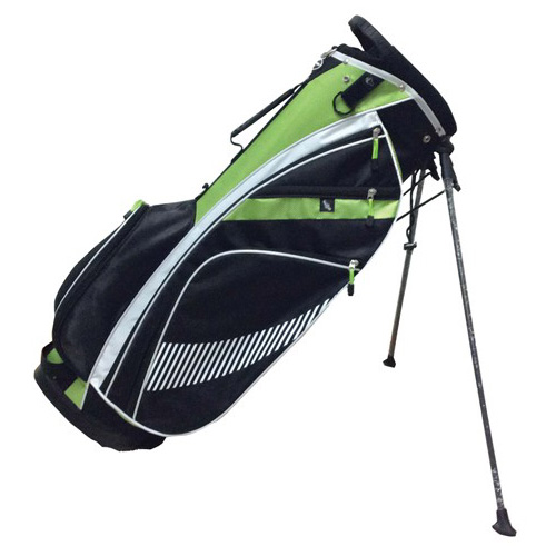 Stand Bag, Black/Green, swatch
