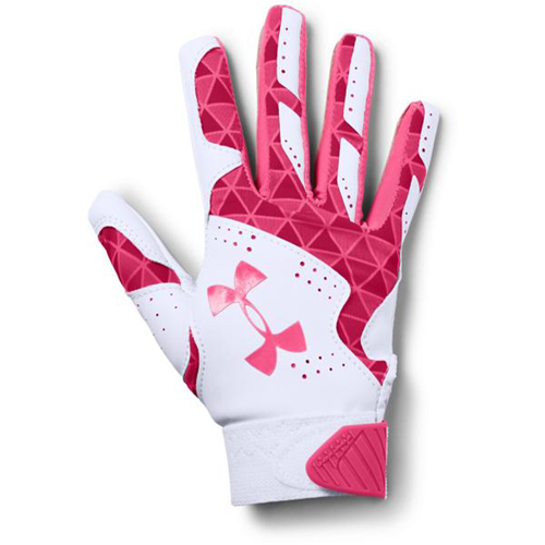 Youth Radar Fast Pitch Batting Gloves, Pink, swatch