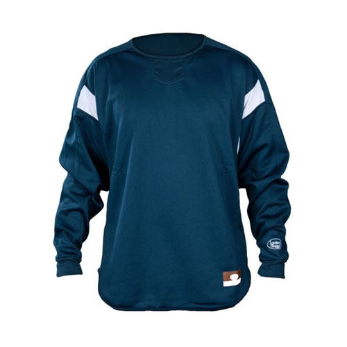 Youth Dugout Pullover, Navy, swatch