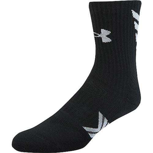 Undeniable Mid Crew Sock, Black/White, swatch